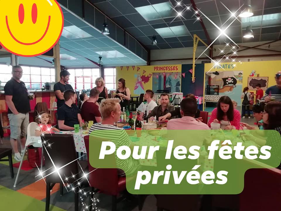 Privatisation pour fêtes privées